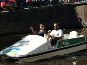 Waterfiets huren Amsterdam Canal Bike via Rondvaartvergelijker