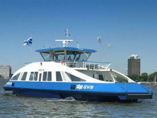 Voordeligste boottocht Amsterdam gratis pontje IJ Centraal Noord