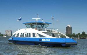 Amsterdam pont GVB naar Amsterdam Noord