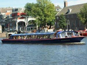Blue Boat Company rondvaart Amsterdam Leidseplein