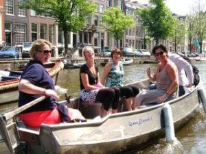 Sloep bootje huren in Amsterdam en zelf varen bij Boaty Bootverhuur
