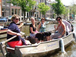 Bootje huren Amsterdam en zelf varen bij Boaty Bootverhuur