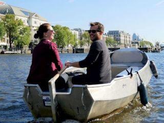 Voordeligste bootverhuur Amsterdam sloep huren zelf varen Boaty en Boats4rent