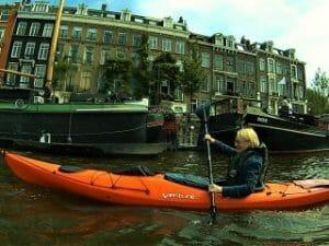 Amsterdam Kajaktour Grachten Zeebaard