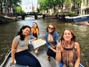 Boot mieten Amsterdam Grachten Boats4rent Bootsverleih