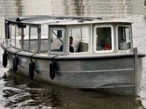 Boot mieten Salonboot Grachtentour Amsterdam Sloepvrienden
