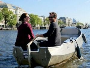 Günstig Boot mieten Amsterdam bei Boaty und Boats4rent Bootsverleih