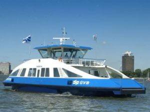 Gratis Hafenfahrt umsonst Fähre Hafen Amsterdam