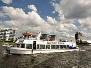 Havenrundfahrt Amsterdam Pfannkuchenschiff Harbour Cruise