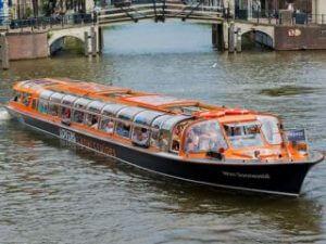 Lovers Amsterdam Grachtenrundfahrt Grachtenboot