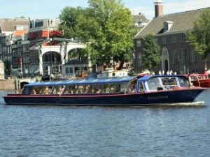 Rundfahrt Grachten Amsterdam Blue Boat Company