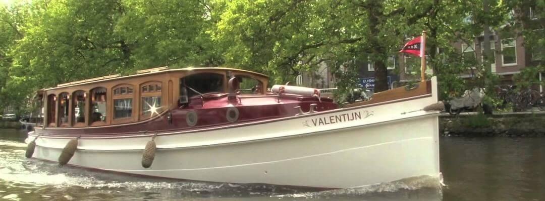 Prive rondvaart Amsterdam salonboot grachten