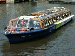 Amsterdam Canal Cruise Large Tour Boat