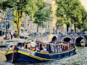 Bota Fogo Amsterdam Classic Canal Barge